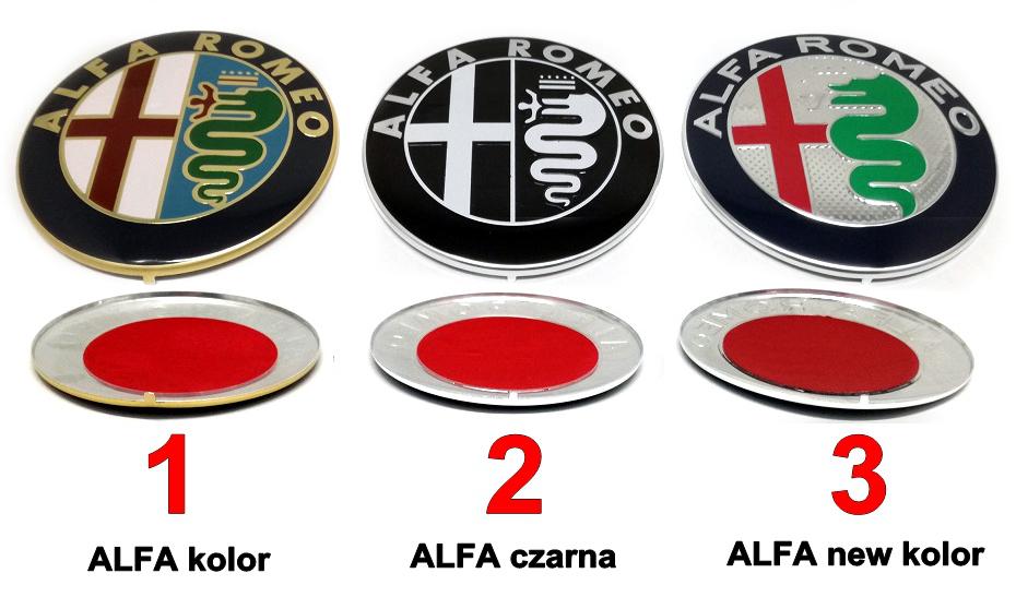 Emblemat alfa romeo 156 fl 8